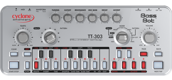 TT-303 V2 Bass Bot / Cyclone Analogic