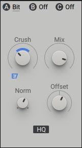 Native Instruments Massive X insert effect