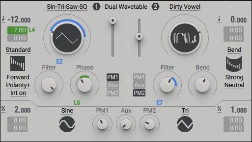 Native Instruments Massive X oscillator