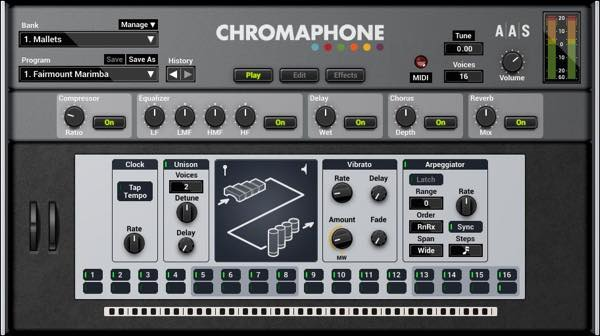 Chromaphone / Applied Acoustics Systems (AAS)