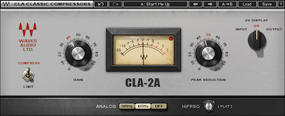 CLA-2A Compressor Limiter / Waves
