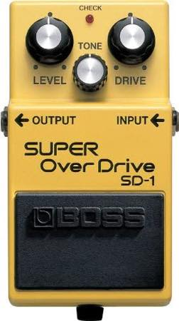 Boss / SD-1 Super Overdrive
