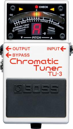 Boss / TU-3 Chromatic Tuner