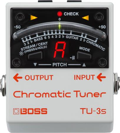 Boss / TU-3S Chromatic Tuner