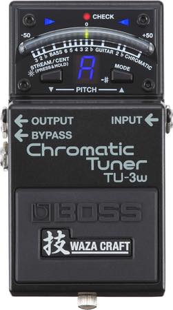 Boss / TU-3W Chromatic Tuner Waza Craft