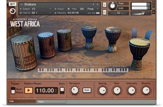 Native Instruments / Discovery Series:West Africa