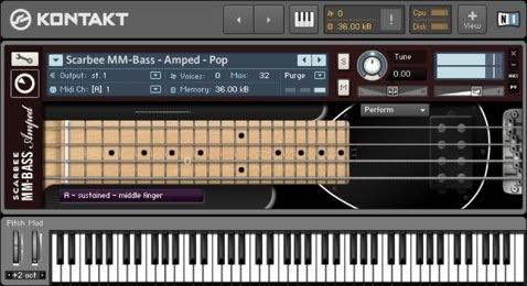 Native Instruments / Scarbee MM-Bass Amped