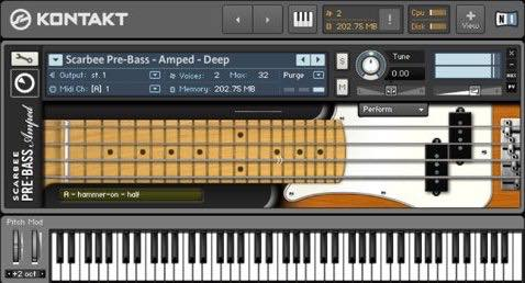 Native Instruments / Scarbee Pre-Bass Amped