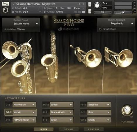 Native Instruments / Session Horns Pro