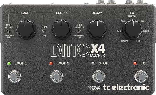 TC Electronic / Ditto X4 Looper