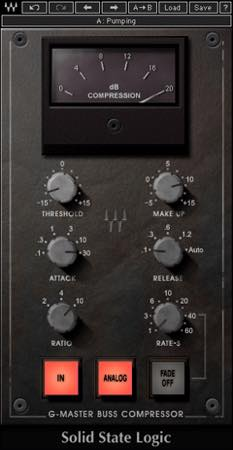 SSL G-Master Buss Compressor / Waves