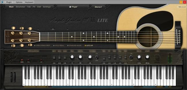 Ample Guitar M Lite II / Ample Sound