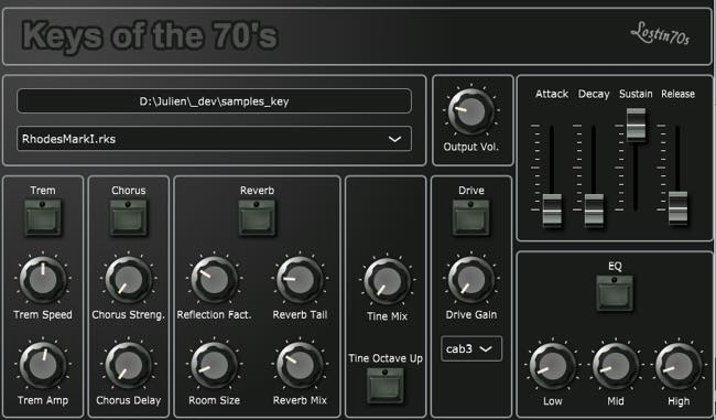 Key of the 70's / Lostin70s