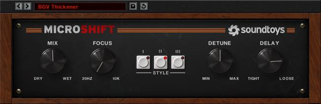 MicroShift / Soundtoys
